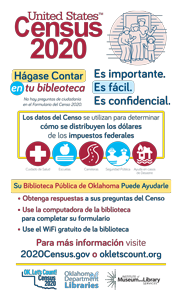 Census Promo Poster Legal Size Espanol